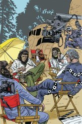 BOOM! Studios's Planet of the Apes: Simian Age Issue # 1b