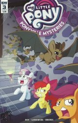 IDW Publishing's My Little Pony: Ponyville Mysteries Issue # 3b