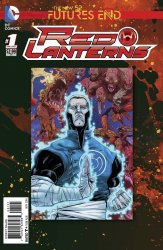 DC Comics's Red Lanterns: Futures End Issue # 1b