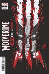 Marvel Comics's Wolverine: Black, White & Blood Issue # 1b error