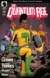 Dark Horse Comics's Quantum Age: From the World of Black Hammer Issue # 4
