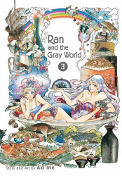 Viz Media's Ran And The Gray World Soft Cover # 3
