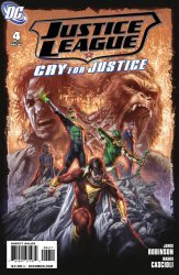DC Comics's Justice League: Cry for Justice Issue # 4