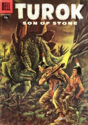 Dell Publishing Co.'s Turok, Son of Stone Issue # 7b