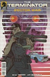 Dark Horse Comics's Terminator: Sector War Issue # 3b