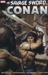 Marvel Comics's Savage Sword of Conan: Original Marvel Years Omnibus  Hard Cover # 3