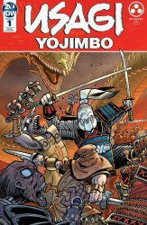 IDW Publishing's Usagi Yojimbo Issue # 1ri-b