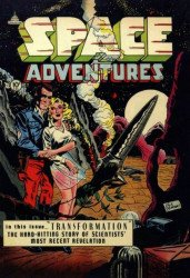 PS Artbooks's Pre-Code Classics: Space Adventures Hard Cover # 2b