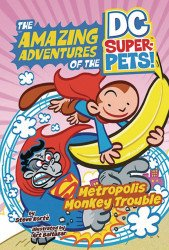 Capstone Press's DC Super Pets: Metropolis Monkey Trouble TPB # 1