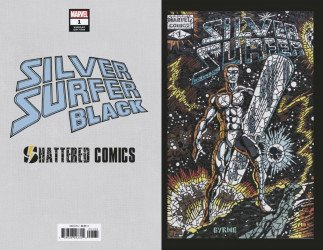 Marvel Comics's Silver Surfer: Black Issue # 1shattered comics