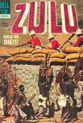 Dell Publishing Co.'s Zulu Issue # 1