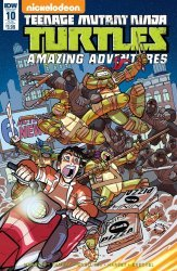 IDW Publishing's Teenage Mutant Ninja Turtles: Amazing Adventures Issue # 10sub