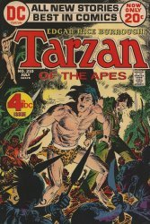 DC Comics's Tarzan Issue # 210