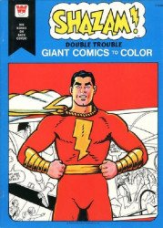Whitman's Giant Comics to Color: Shazam Soft Cover # 1