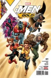 Marvel Comics's X-Men Gold Issue # 1
