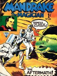 L. Miller & Son's Mandrake the Magician Issue # 24