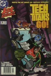 DC Comics's Teen Titans Go! Issue # 1b