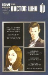 IDW Publishing's Doctor Who: Blu-Ray Special  Special nn