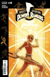 BOOM! Studios's Mighty Morphin Power Rangers Issue # 30b