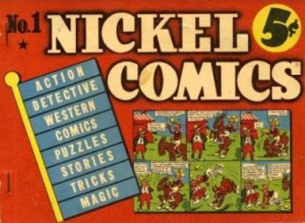 Dell Publishing Co.'s Nickel Comics Issue # 1