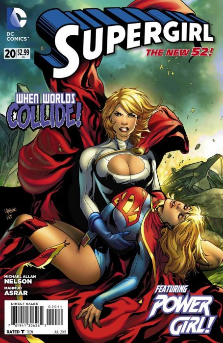 Gail Simone fired by DC! Gail Simone rehired by DC! Dc-comics-supergirl-issue-20