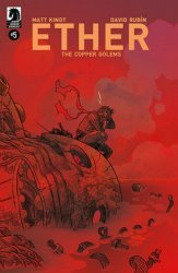Dark Horse Comics's Ether Copper Golems Issue # 5