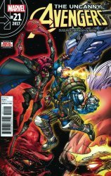 Marvel Comics's Uncanny Avengers Issue # 21