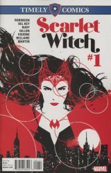 Marvel's Timely Comics Scarlet Witch Issue # 1