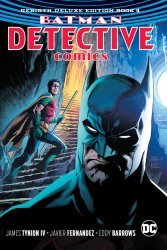 DC Comics's Batman: Detective Comics Rebirth - Deluxe Edition Hard Cover # 4