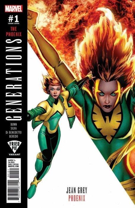 Generations #1 The Phoenix Variant 2017 NM Marvel Comics 1st Print