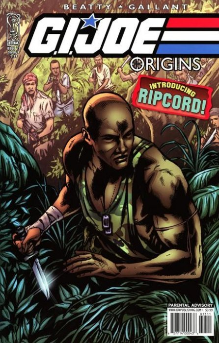 IDW Publishings GI Joe Origins Issue 13b