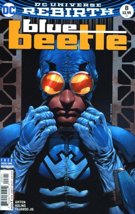 Blue Beetle #8 DC Comics 2017 DCU Rebirth