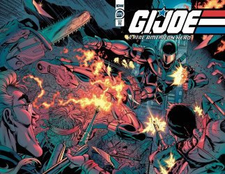 IDW Publishing's G.I. Joe: A Real American Hero Issue # 275ri