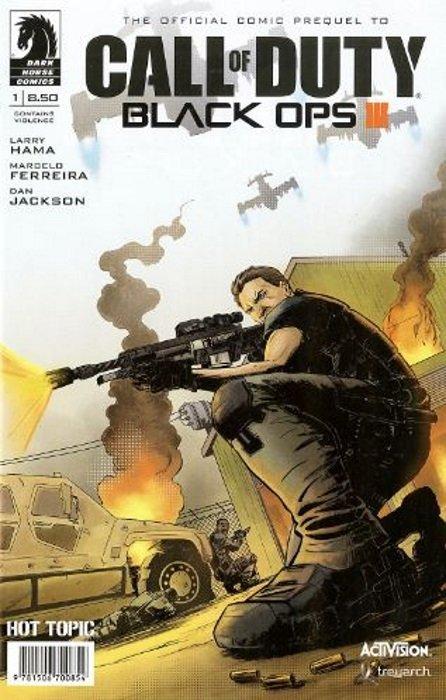 Call of Duty: Black Ops III TPB 1 (Dark Horse Comics ...