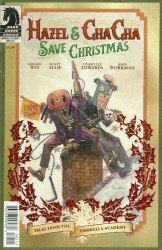 Dark Horse Comics's Hazel & Cha Cha Save Christmas: Tales from the Umbrella Academy Issue # 1