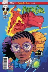 Marvel Comics's Moon Girl and Devil Dinosaur Issue # 25