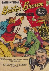 Buster Brown Shoes's Buster Brown Comics Issue # 19national