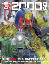Rebellion's 2000 A.D. Issue # 2164