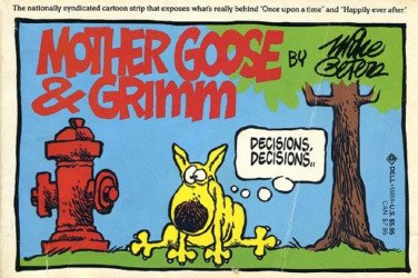 Dell Publishing Co.'s Mother Goose and Grimm Soft Cover # 1