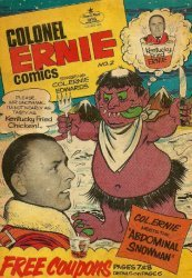 Comic Page Features's Colonel Ernie Comics Issue # 2