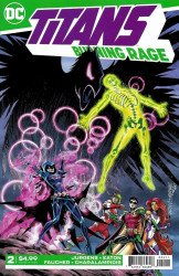 DC Comics's Titans: Burning Rage Issue # 2