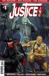 Dynamite Entertainment's Justice Inc Issue # 1
