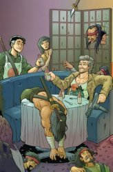 BOOM! Studios's Big Trouble In Little China: Old Man Jack Issue # 7c