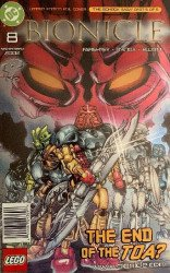 DC Comics's Bionicle Issue # 8b