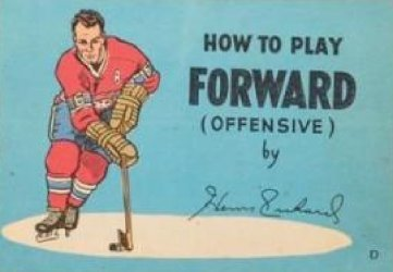 Gaines Productions Ltd.'s How to Play Hockey: Coca-Cola Mini-Comics Issue d