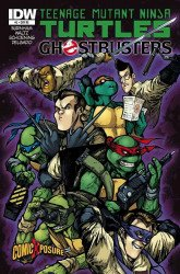 IDW Publishing's Teenage Mutant Ninja Turtles / Ghostbusters Issue # 2comicxposure