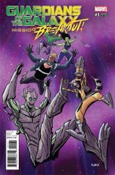 Marvel Comics's The Guardians of The Galaxy: Mission Breakout Issue # 1c