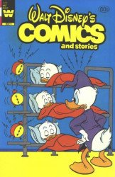 Whitman's Walt Disney's Comics and Stories Issue # 509