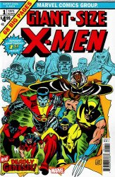 Marvel Comics's The X-Men Giant Size # 1facsimile