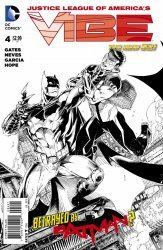 DC Comics's Justice League of America's Vibe Issue # 4b